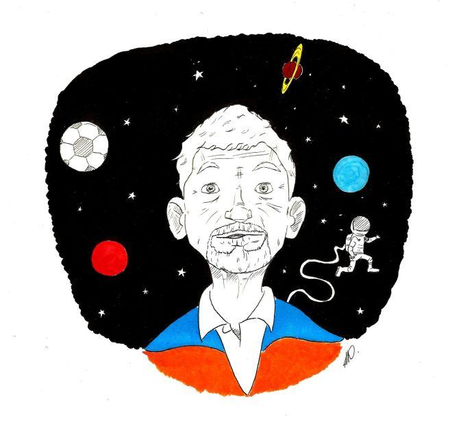 Salir al espacio y cambiar el mundo