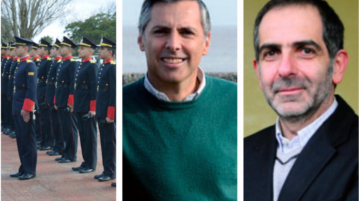 Oficiales del Ejército formados en democracia opinan que su 'mochila' carga piedras que no les pertenecen